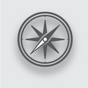 Icon of a compass.